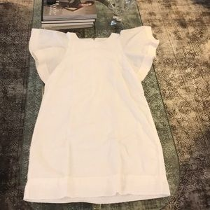 """J crew dotted Swiss dress or top 34"""""""